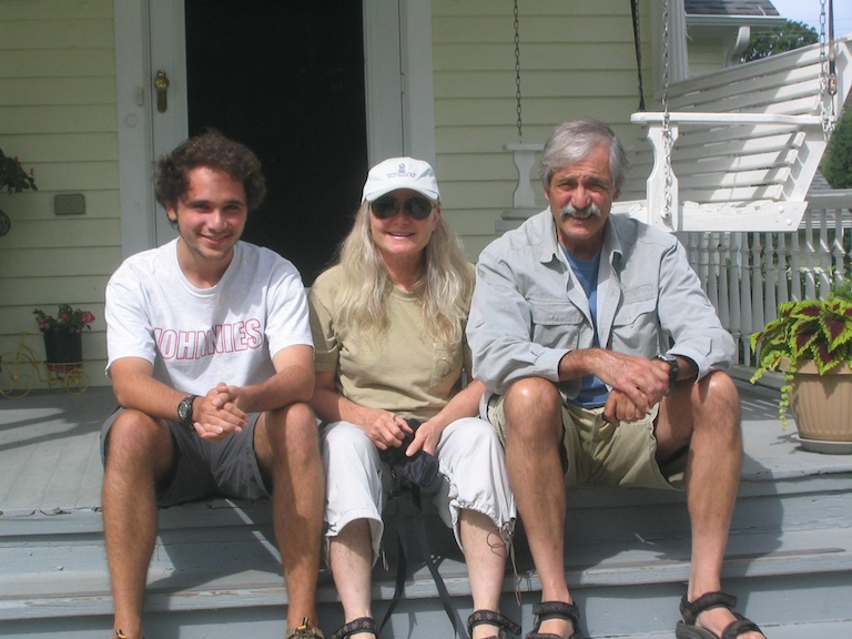 Lief, Marnie, and Allan Davisson